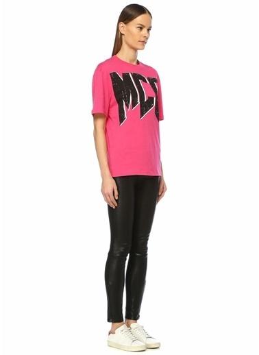 McQ Alexander McQueen Tişört Fuşya